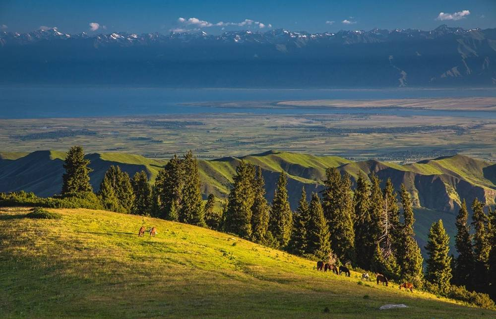 The revival of the route from Almaty to Issyk Kul lake through the mountains